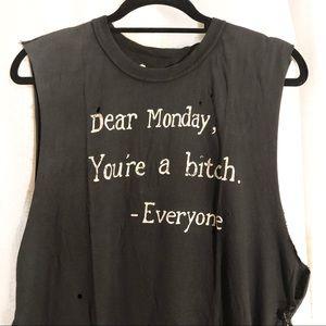 UNIF Dear Monday Tee